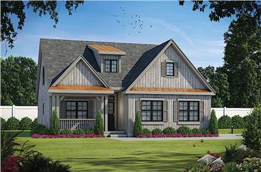 4-Bedroom, 2114 Sq Ft Cottage Home - Plan #120-2639 - Main Exterior