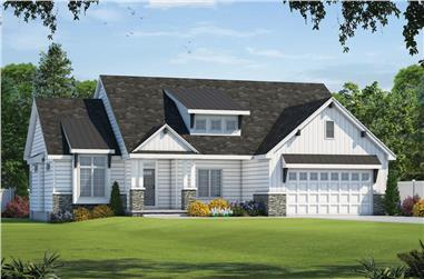 3-Bedroom, 1925 Sq Ft Farmhouse House - Plan #120-2652 - Front Exterior