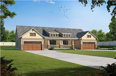 3-Bedroom, 2390 Sq Ft Farmhouse House - Plan #120-2657 - Front Exterior