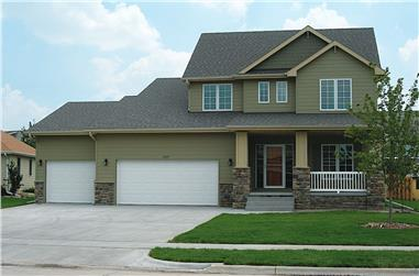 3-Bedroom, 1699 Sq Ft Farmhouse House - Plan #120-2658 - Front Exterior