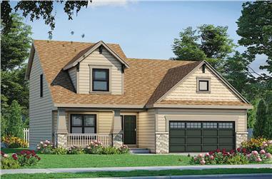4-Bedroom, 1554 Sq Ft Farmhouse Home - Plan #120-2663 - Main Exterior
