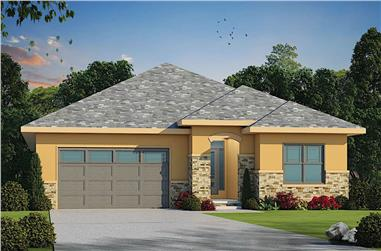 3-Bedroom, 2080 Sq Ft California Style House - Plan #120-2672 - Front Exterior