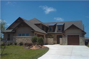 3-Bedroom, 2782 Sq Ft Rustic House - Plan #120-2685 - Front Exterior