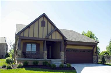 4-Bedroom, 2506 Sq Ft Ranch House Plan - 120-2687 - Front Exterior
