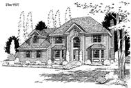 Main image for house plan # 3830