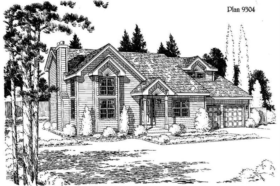 Main image for house plan # 3767