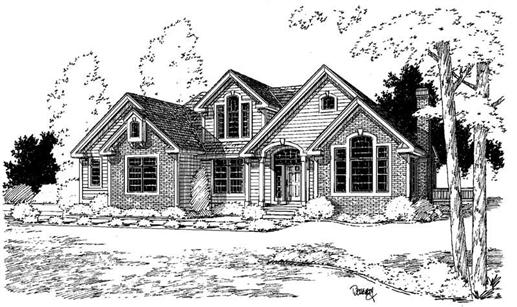 Main image for house plan # 3876