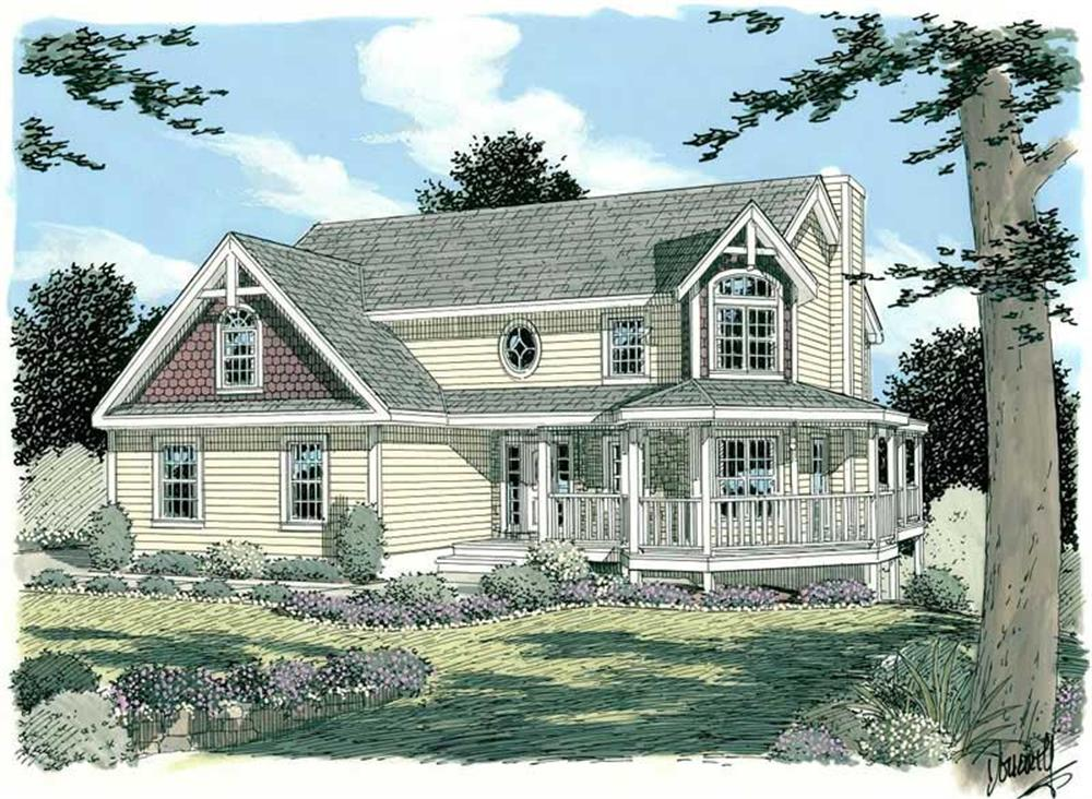 Main image for house plan # 3740