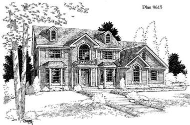 Main image for house plan # 3835