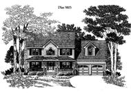 Main image for house plan # 3878
