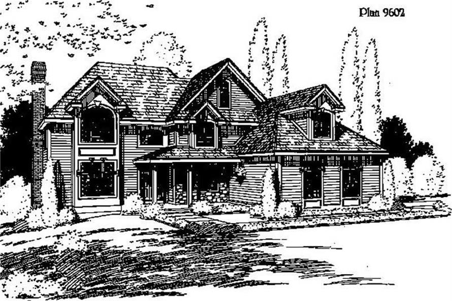 Main image for house plan # 3834