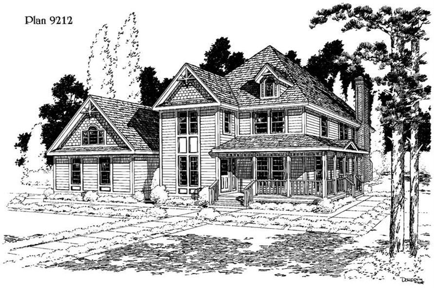 Main image for house plan # 3762