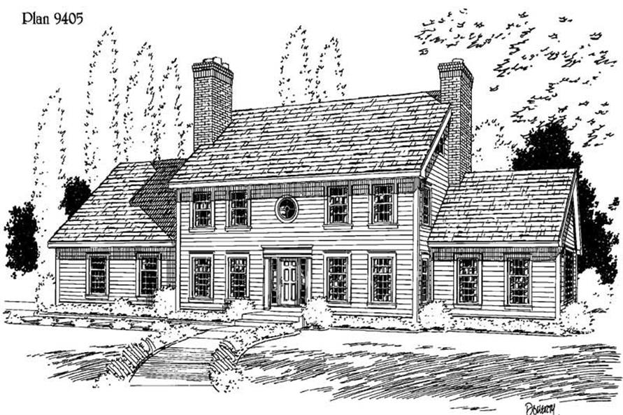 Main image for house plan # 3779