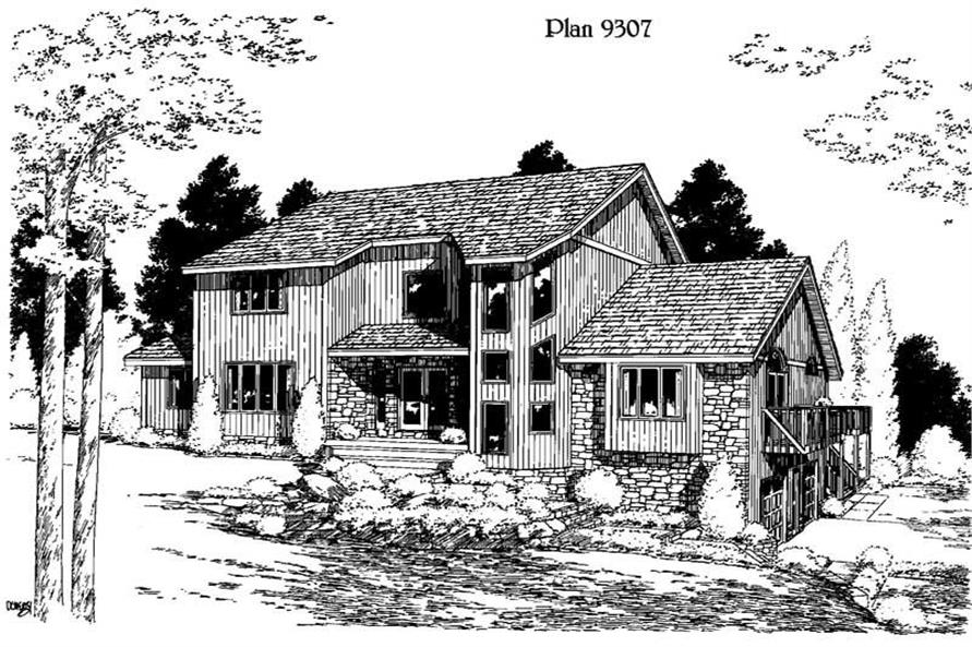 Main image for house plan # 3768