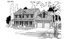 Main image for house plan # 3786