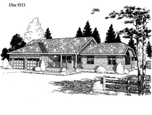 Main image for house plan # 3773