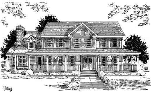 Main image for house plan # 3724