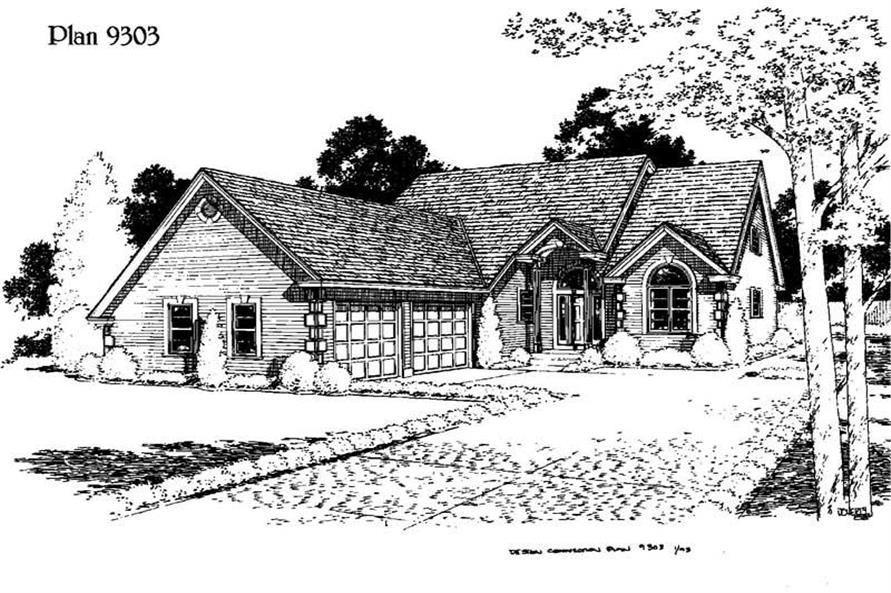 Main image for house plan # 3766