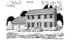 Main image for house plan # 3877