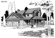 View house Plan#121-1045