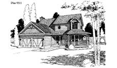 Main image for house plan # 3771
