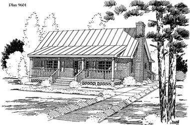 3-Bedroom, 1483 Sq Ft Cape Cod House Plan - 121-1054 - Front Exterior