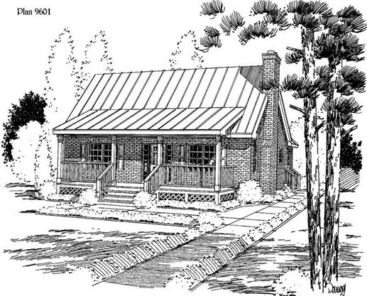 Main image for house plan # 3833