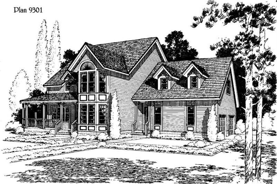 3-Bedroom, 1264 Sq Ft Small House Plans - 121-1056 - Main Exterior