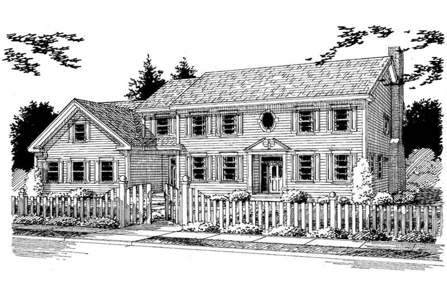 Main image for house plan # 3742
