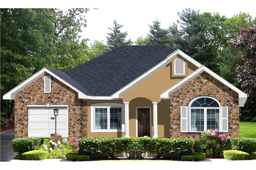Main image for house plan # 16813