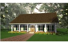 Main image for house plan # 16833