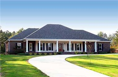 Southern-style home comes complete with 4 spacious bedrooms and 2.5 baths.