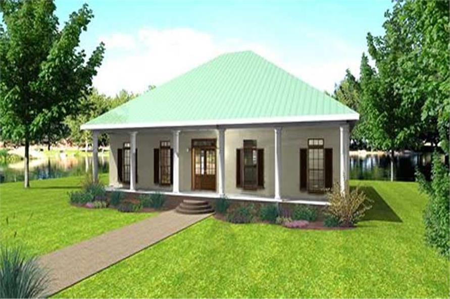 Main image for house plan # 18427