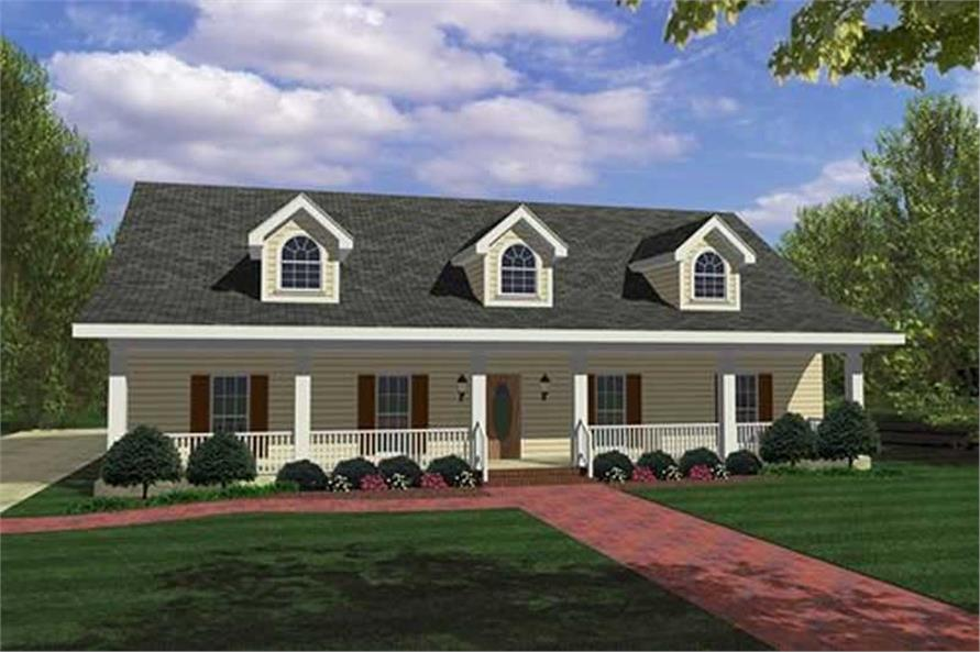 Main image for house plan # 18426