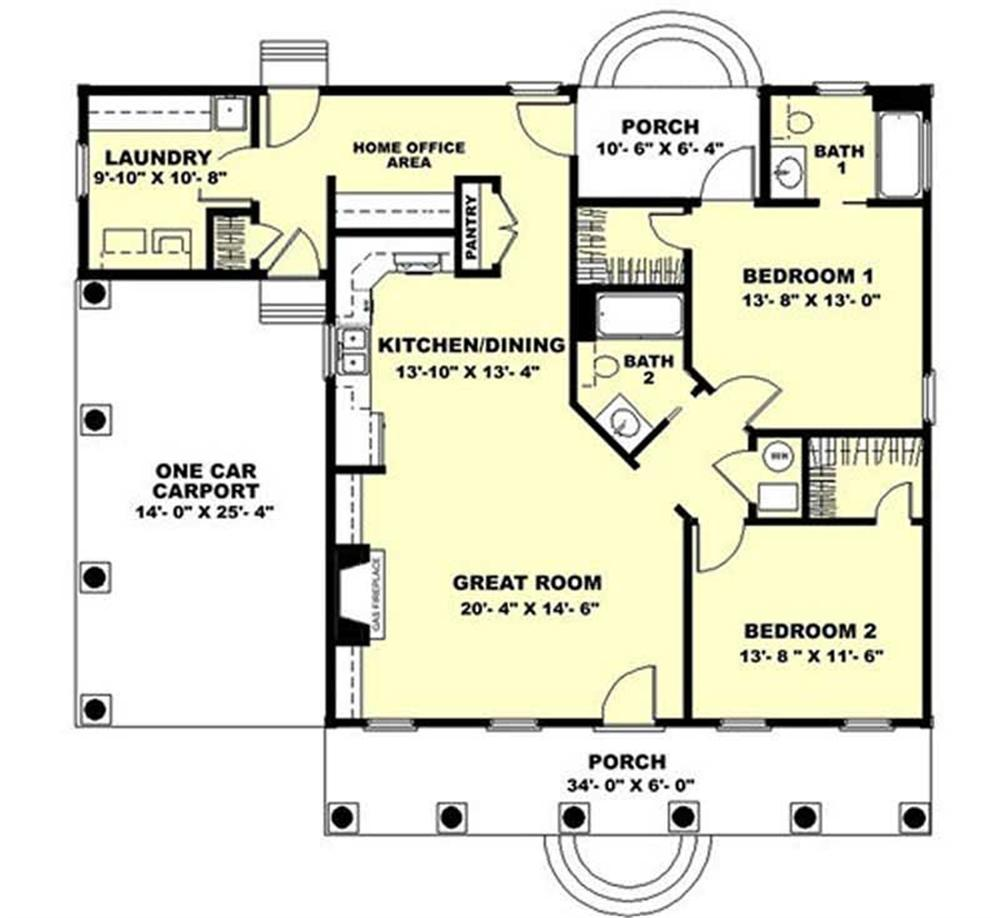 HOME PLAN THE CITRONELLE