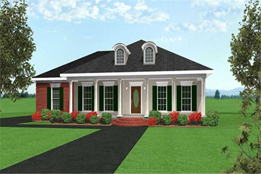 Main image for house plan # 16829