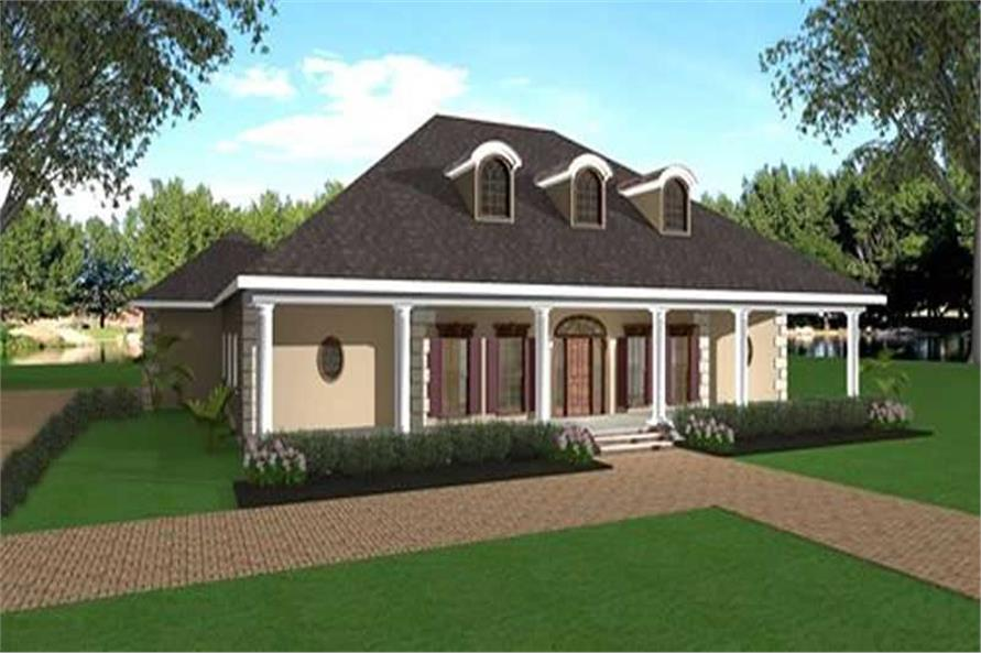 Main image for house plan # 16866