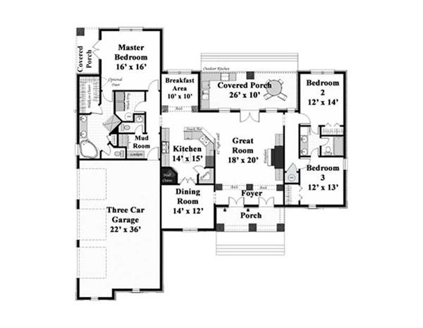 Main Floor Plan DP-2204