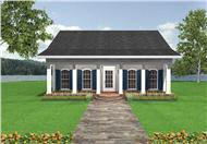 Main image for house plan # 16811