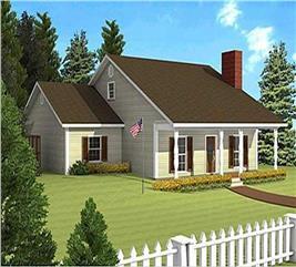 House Plan #123-1019