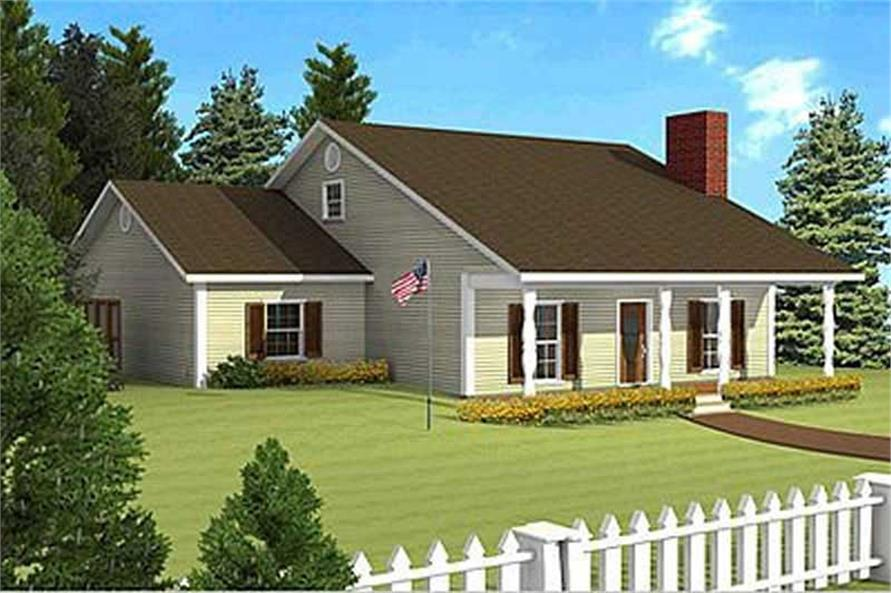Main image for house plan # 16815
