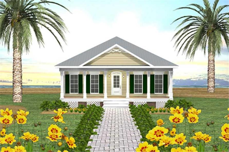 Main image for house plan # 16824