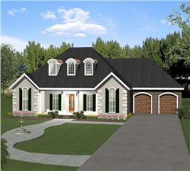 House Plan #123-1026