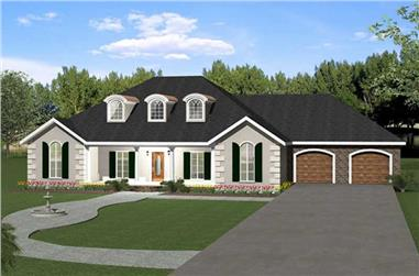 Main image for house plan # 16869