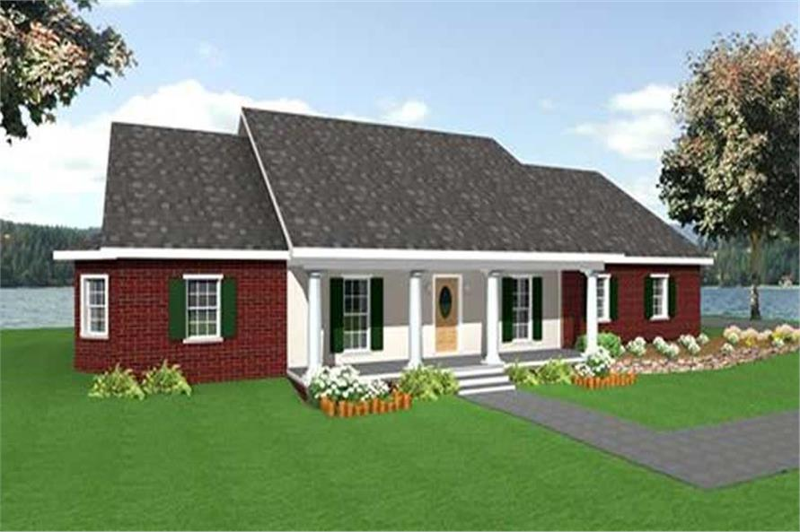Main image for house plan # 16861