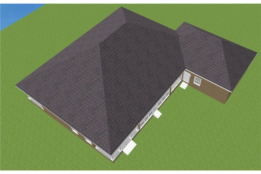Home Plan Rendering of this 3-Bedroom,2775 Sq Ft Plan -123-1030