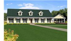 Main image for house plan # 16868
