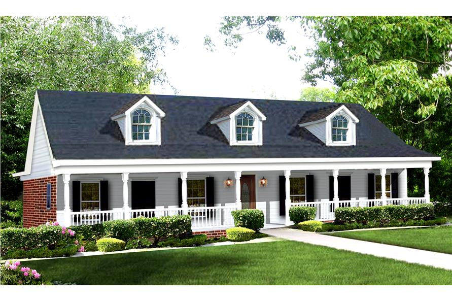 Farmhouse Country House Plan 123 1039 4 Bedrm 2158 Sq Ft