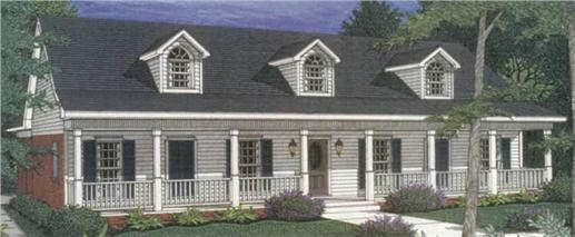 Main image for house plan # 2213