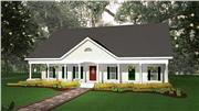View house Plan#123-1040